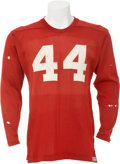 Football Collectibles:Uniforms, 1949-50 Kyle Rote Game Worn Jersey....