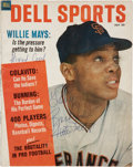 Autographs:Others, 1965 Willie Mays Vintage Signed Publication. ...