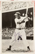 Autographs:Post Cards, Circa 1950 Larry Doby Signed Postcard....