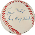 "Autographs:Baseballs, Willie Mays ""Say Hey Kid"" Single Signed Baseball...."
