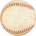 Autographs:Baseballs, Mickey Mantle Vintage Single Signed Baseball. ...