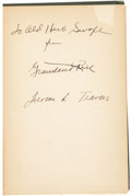 "Golf Collectibles:Autographs, 1915 ""The Winning Shot"" by Jerome D. Travers and Grantland RiceSigned Book. ..."