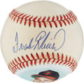 Autographs:Baseballs, Frank Robinson Single Signed Portrait Baseball. ...