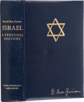 Books:Signed Editions, David Ben-Gurion. Israel: A Personal History. New York: Funk& Wagnalls, [1971].. First edition. Limited to 2,...