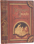 Books:First Editions, Jules Verne. The Mysterious Island. Part First,Shipwrecked in the Air. Boston: Henry L. Shepard,1875....