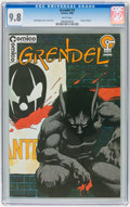 Modern Age (1980-Present):Superhero, Grendel #2 (Comico, 1983) CGC NM/MT 9.8 White pages....