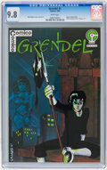 Modern Age (1980-Present):Superhero, Grendel #1 (Comico, 1983) CGC NM/MT 9.8 White pages....