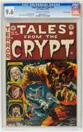 Golden Age (1938-1955):Horror, Tales From the Crypt #35 Gaines File pedigree (EC, 1953) CGC NM+9.6 Off-white to white pages....