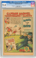 Golden Age (1938-1955):Miscellaneous, Captain Marvel and the Lieutenants of Safety #1 Rockford pedigree (Fawcett, 1950) CGC NM 9.4 Cream to off-white pages....