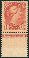 Stamps, 10¢ Brown Red (45),...