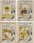Books:Children's Books, Little Black Sambo Lot, including: Helen Bannerman. The Story ofLittle Black Sambo. New York: Platt & Munk, n.d... (Total:4 Items)