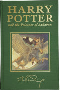 Books:Signed Editions, J. K. Rowling. Harry Potter and the Prisoner of Azkaban.London: Bloomsbury, 1999.. First English deluxe editi...