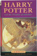 Books:Signed Editions, J. K. Rowling. Harry Potter and the Prisoner of Azkaban.London: Bloomsbury, 1999.. First edition, first issue...