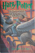 Books:Signed Editions, J. K. Rowling. Harry Potter and the Prisoner of Azkaban.[New York]: Arthur A. Levine Books / An Imprint of Scholast...