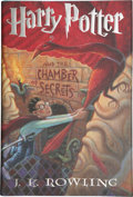 Books:Signed Editions, J. K. Rowling. Harry Potter and the Chamber of Secrets. [NewYork]: Arthur A. Levine Books/ An Imprint of Scholastic...