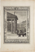 Antiques:Posters & Prints, Bernard Picart. One Engraving: The Palladium. Good condition....