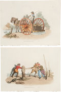 Antiques:Posters & Prints, William Henry Pyne . Five British Costumes Prints. Five hand-colored etchings from The Costumes of Great Britain (London... (Total: 5 Items)