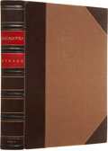 Books:First Editions, Grace Raymond Hebard. Sacajawea... Glendale, California: TheArthur H. Clark Company, 1933. First edition. Octavo. 3...