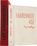 Books:Signed Editions, Ray Bradbury. Fahrenheit 451. New York: Ballantine Books,[1953].. First edition. Number 21 of 200 limited edition...