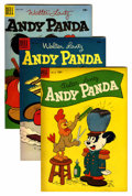 Golden Age (1938-1955):Cartoon Character, Andy Panda File Copies Group (Dell, 1953-61) Condition: AverageVF/NM.... (Total: 22 )