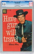 Silver Age (1956-1969):Western, Four Color #931 Have Gun, Will Travel - File Copy (Dell, 1958) CGC VF/NM 9.0 Off-white to white pages....