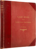 Books:First Editions, John Guille Millais. Game Birds and Shooting Sketches;Illustrating the Habits, Modes of Capture, Stages of Plumag...