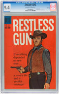Silver Age (1956-1969):Western, Four Color #1045 Restless Gun - File Copy (Dell, 1960) CGC NM 9.4Off-white to white pages....