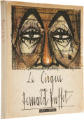 Books:First Editions, Bernard Buffet. Le Cirque - Signed and Inscribed by the Artist.[Paris]: Art et Style, [1956]. First edition. Quarto. Eight ...