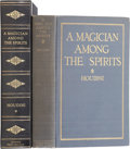Books:Signed Editions, Harry Houdini. A Magician Among the Spirits. New York andLondon: Harper & Brothers, 1924.. First edition, ...