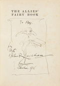Books:Children's Books, Arthur Rackham. The Allies Fairy Book - With a superboriginal sketch and inscription by Arthur Rackham. London:...