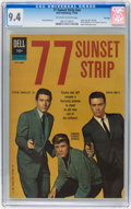 Silver Age (1956-1969):Adventure, 77 Sunset Strip #01-742-209 File Copy (Dell/Gold Key, 1962) CGC NM 9.4 Off-white to white pages....