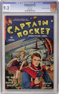 Golden Age (1938-1955):Science Fiction, Captain Rocket #1 Mile High pedigree (P.L. Publishing Co., 1951)CGC NM- 9.2 White pages....