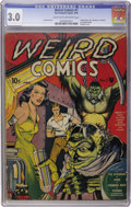 Golden Age (1938-1955):Horror, Weird Comics #1 (Fox Features Syndicate, 1940) CGC GD/VG 3.0 Lighttan to off-white pages....