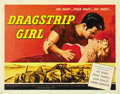 "Movie Posters:Bad Girl, Dragstrip Girl (American International, 1957). Half Sheet (22"" X28""). ..."