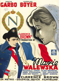 """Movie Posters:Drama, Conquest (MGM, 1937). Danish One Sheet (24.5"""" X 33.5""""). ..."""