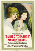 "Movie Posters:Adventure, Buried Treasure (Paramount, 1921). One Sheet (27"" X 41"") Style B...."