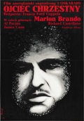 """Movie Posters:Crime, The Godfather (Paramount, 1972). Polish (23"""" X 33"""")...."""