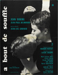 "Movie Posters:Foreign, Breathless (UGC DA , 1960). French Petite (23.5"" X 31.5"")...."
