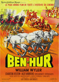 "Movie Posters:Drama, Ben-Hur (MGM, 1959). French Petite (21.5"" X 29.5""). ..."
