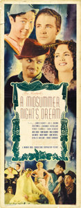 "Movie Posters:Fantasy, A Midsummer Night's Dream (Warner Brothers, 1935). Insert (14"" X36""). ..."
