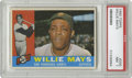 Baseball Cards:Singles (1960-1969), 1960 Topps Willie Mays #200 PSA NM 7. Here we present a strongexample of the Say Hey Kid's entry in Topps' colorful 1960 i...