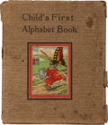 Books:Children's Books, Bird and Animal A. B. C. Child's First Alphabet Book.Newark, NJ and New York, NY: Charles E. Graham & Co.,[n.d.]....