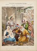 Books:Non-fiction, Preceptive Illustrations of the Bible. Fifty-TwoHand-Colored Plates. London: Thomas Varty, [ca. 1850].. Firstthu...