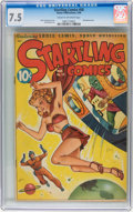 Golden Age (1938-1955):Adventure, Startling Comics #50 (Better Publications, 1948) CGC VF- 7.5 Cream to off-white pages....