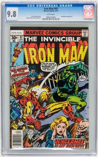 Iron Man #97 (Marvel, 1977) CGC NM/MT 9.8 White pages