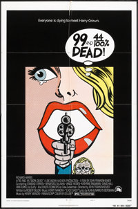 """99 and 44/100% Dead (20th Century Fox, 1974). One Sheet (27"""" X 41"""") Style A. Crime"""
