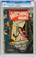 Bronze Age (1970-1979):Horror, The Witching Hour #19 (DC, 1972) CGC FN/VF 7.0 Off-white pages....