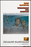 """Movie Posters:Crime, Thunderbolt and Lightfoot (United Artists, 1974). One Sheet (27"""" X41"""") Flat Folded Style B. Crime.. ..."""