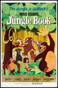"Movie Posters:Animated, The Jungle Book (Buena Vista, 1967). One Sheet (27"" X 41""). Animated.. ..."