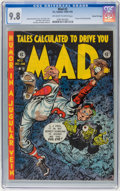 Golden Age (1938-1955):Humor, Mad #2 Gaines File Copy (EC, 1952) CGC NM/MT 9.8 Off-white to white pages....